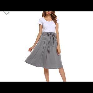 Knee length office skirt new